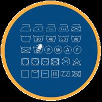 Расшифровка символов по уходу за тканями